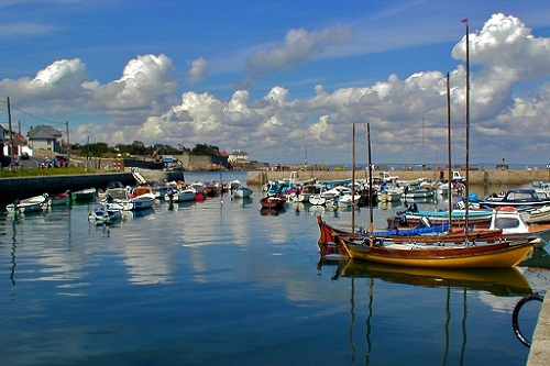 Bulloch Harbour, Dalkey, Co. Dublin. Photo courtesy of www.dalkeyphotos.com